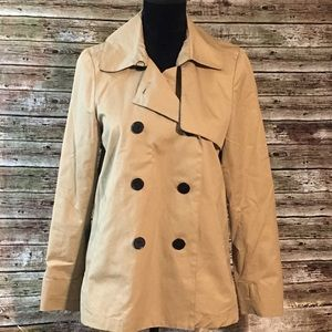 Everlane Short Trench Coat